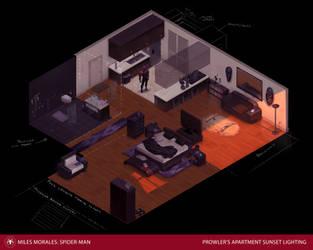Prowler Apartment Sunset by DanielAraya