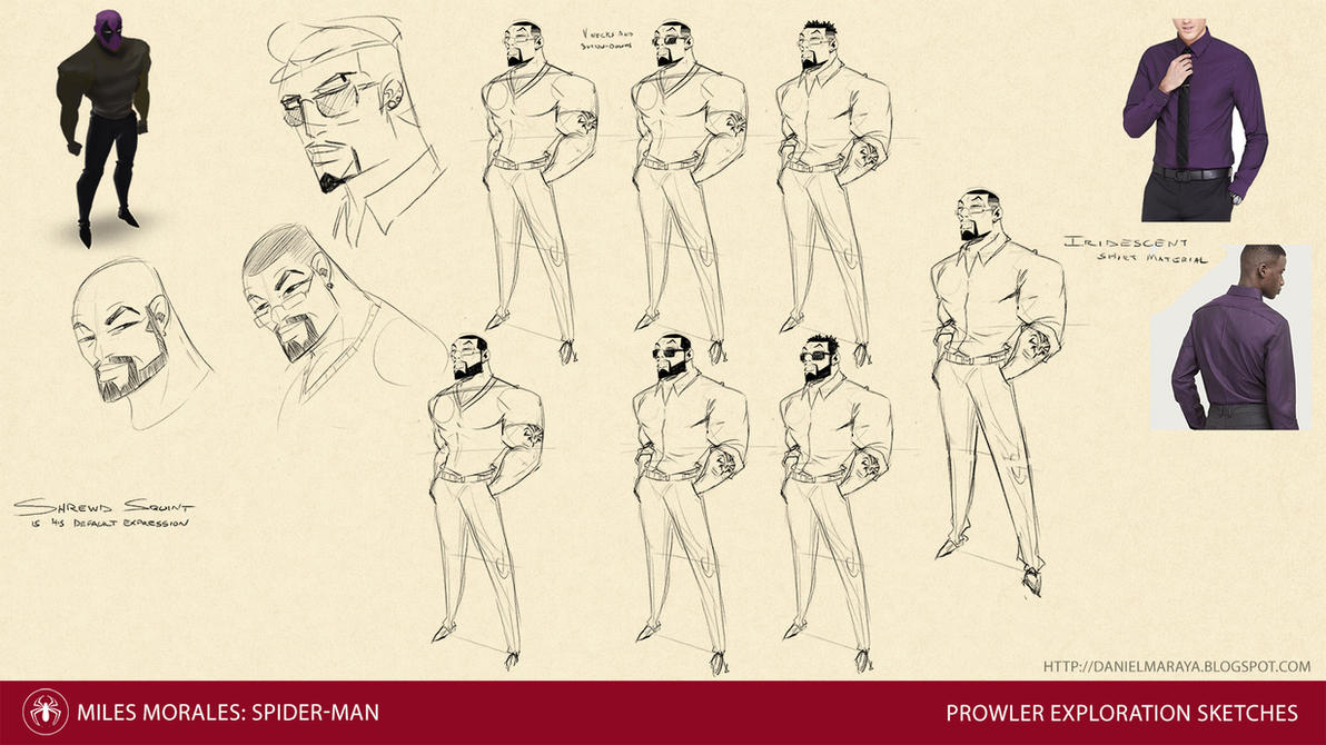 Prowler Sketches by DanielAraya