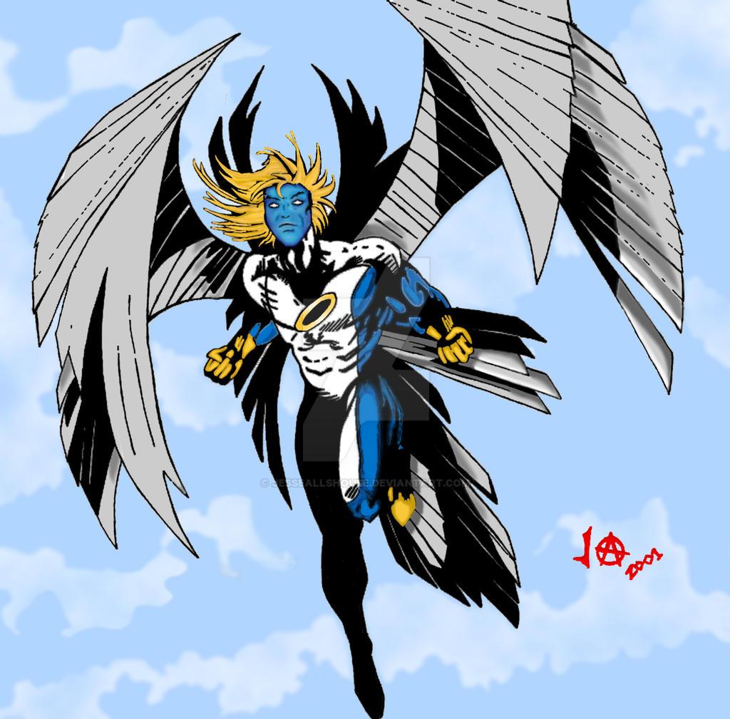 Archangel In Blue by JesseAllshouse