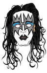 Ace Frehley Portrait