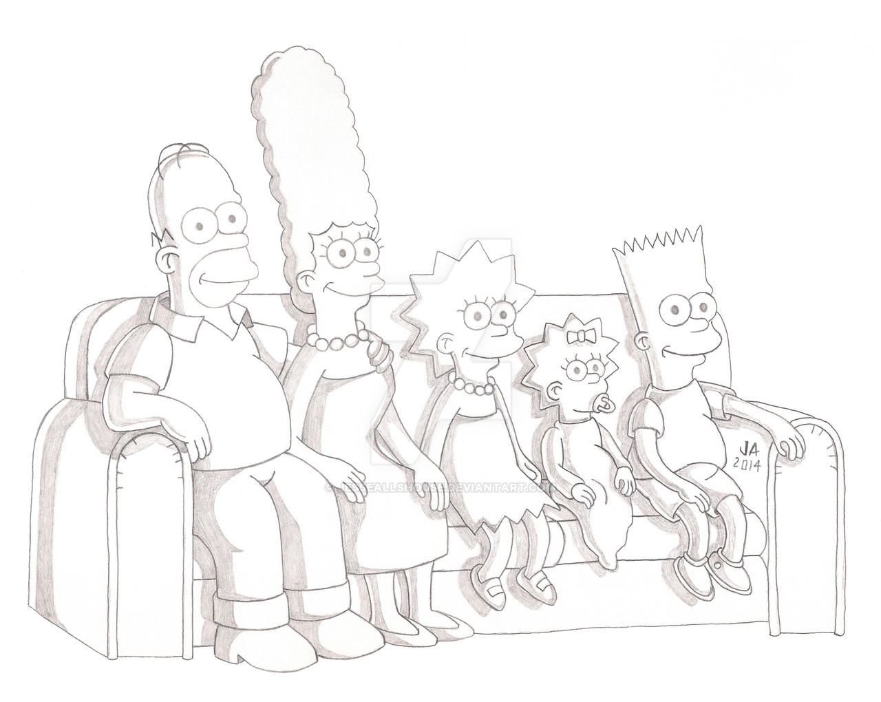 The Simpsons Sketch
