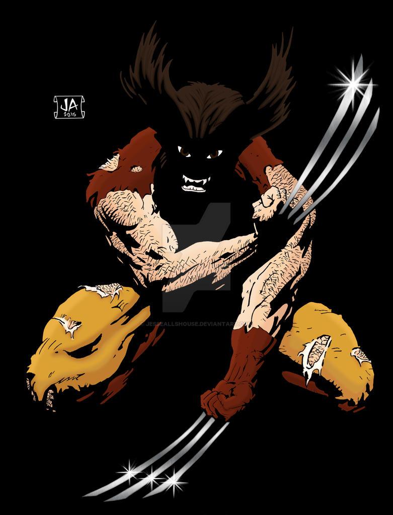 Wolverine by JesseAllshouse
