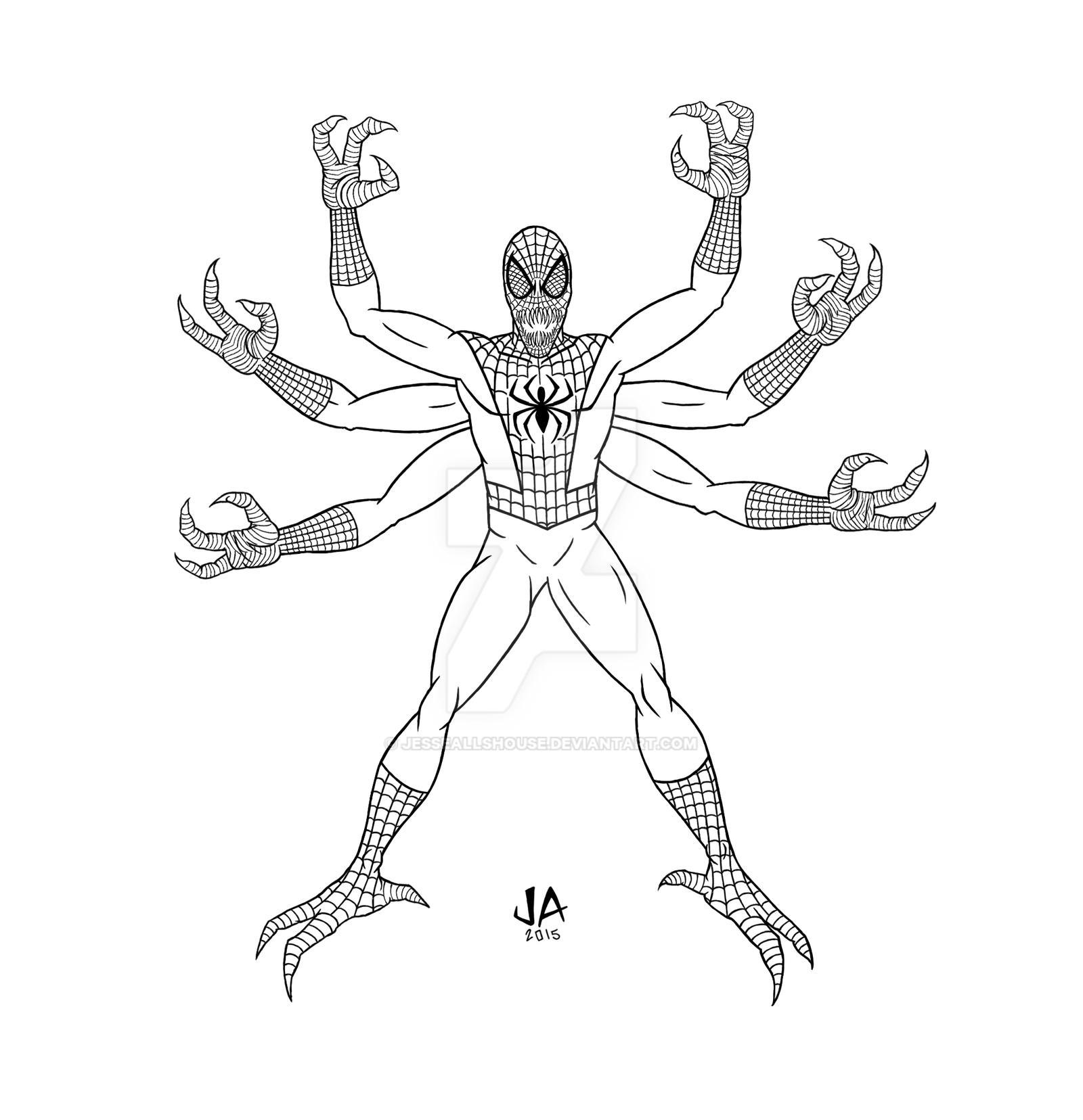Spider-Doppelganger Digital Ink
