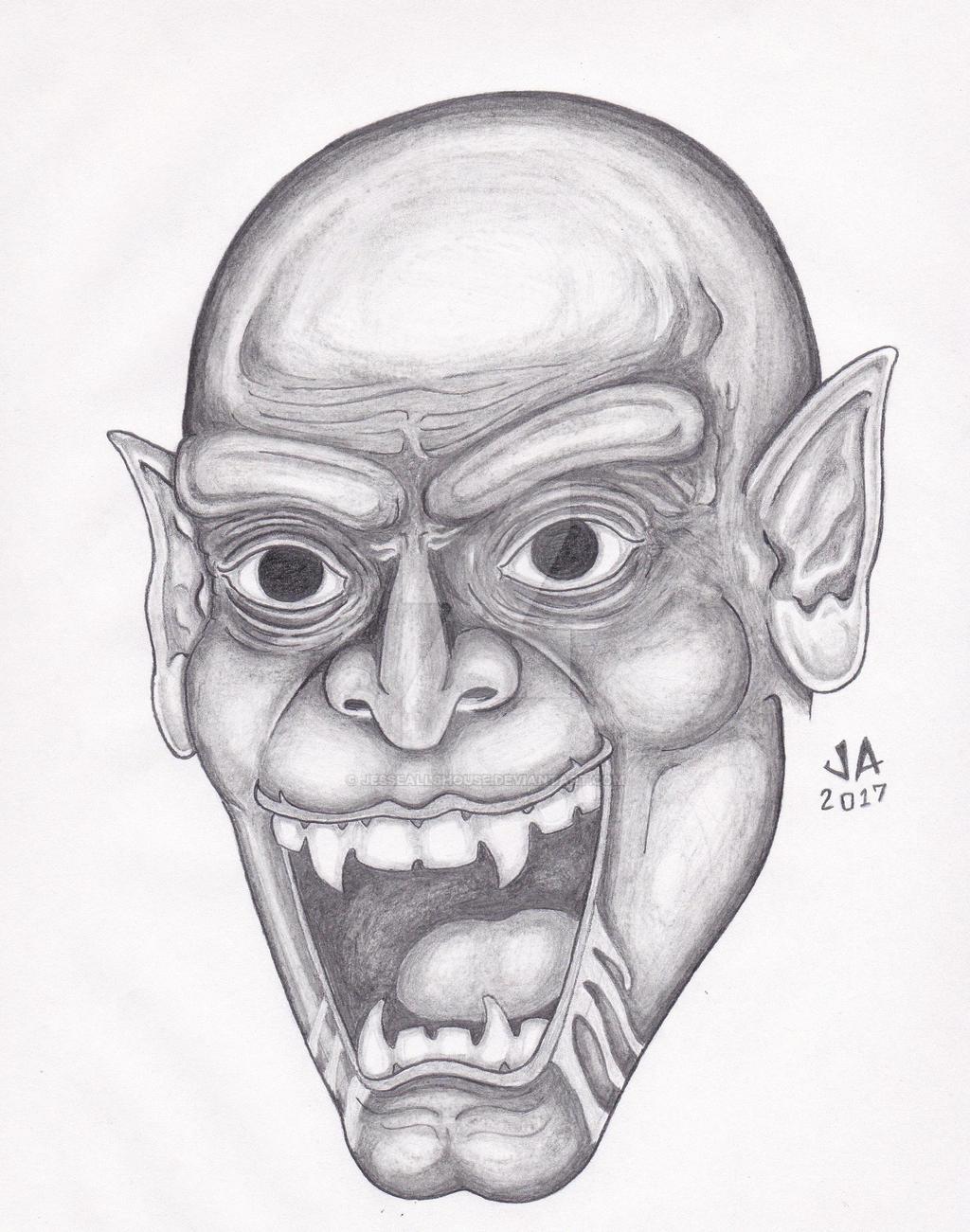 Nosferatu Pencil Sketch