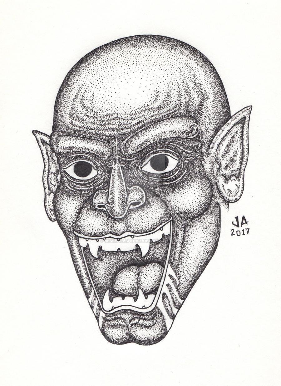 Nosferatu Pen and Ink