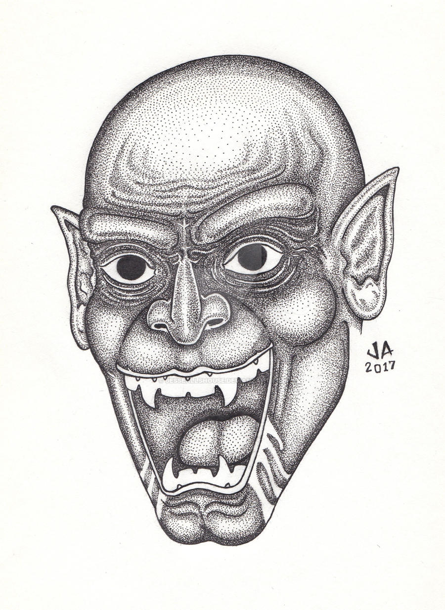 Nosferatu Pen and Ink