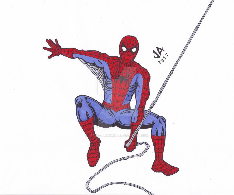 Spider-Man Color by JesseAllshouse