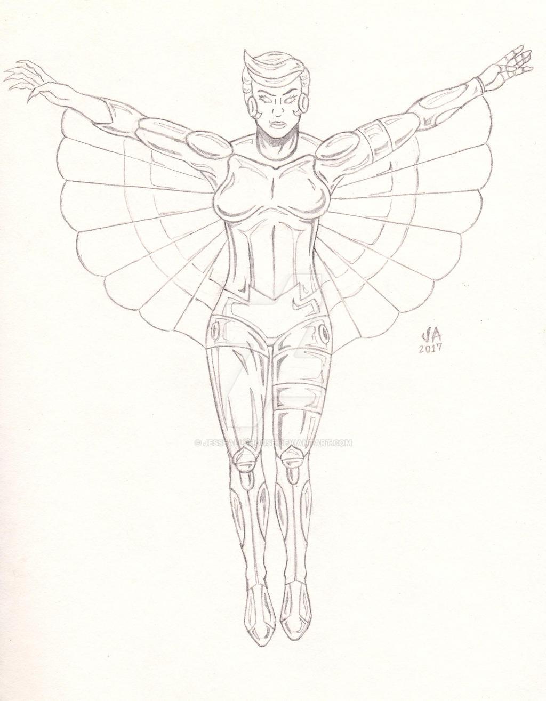 SilverHawks Steelheart Quick Sketch
