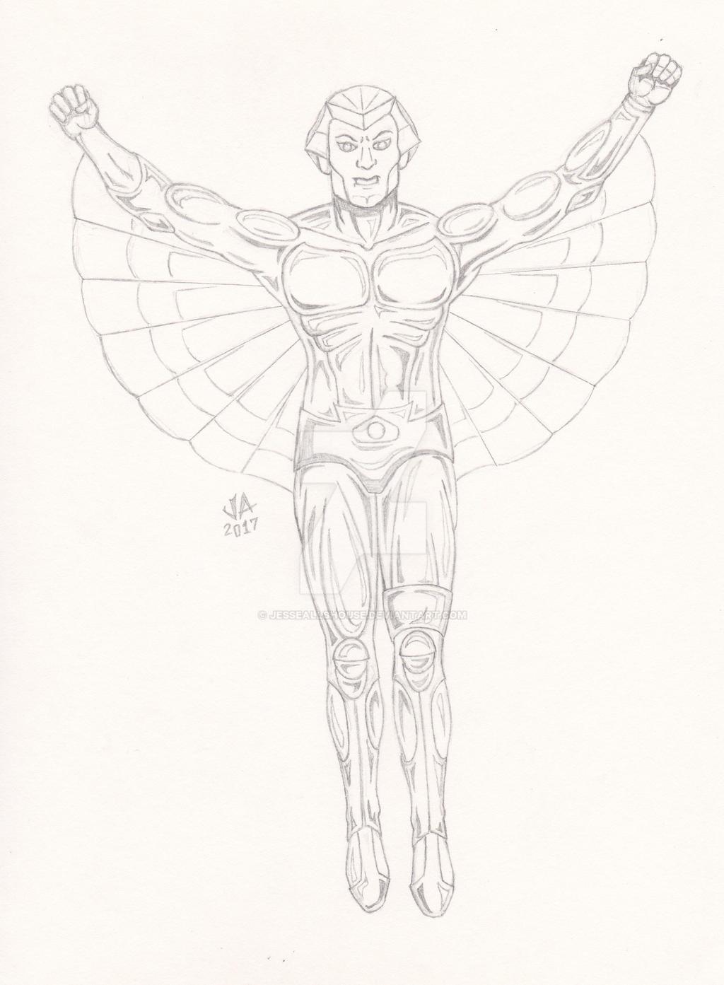 SilverHawks Quicksilver Quick Sketch