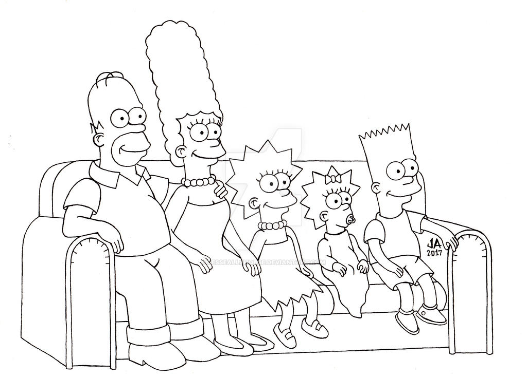 The Simpsons Pen and Ink
