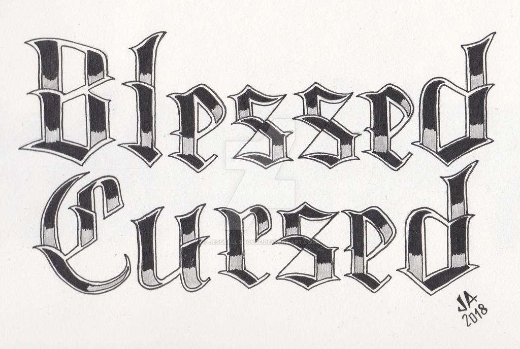 Blessed X Cursed Tattoo Design 22 By Jesseallshouse On Deviantart