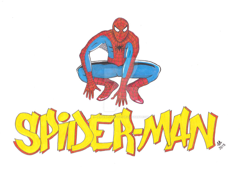 Spider-Man Logo by JesseAllshouse