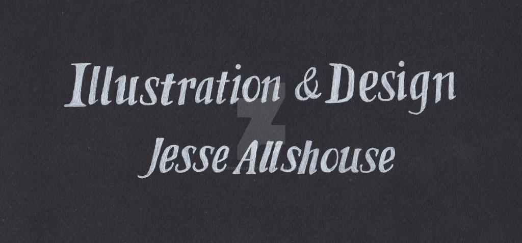 Black Sketch Banner by JesseAllshouse