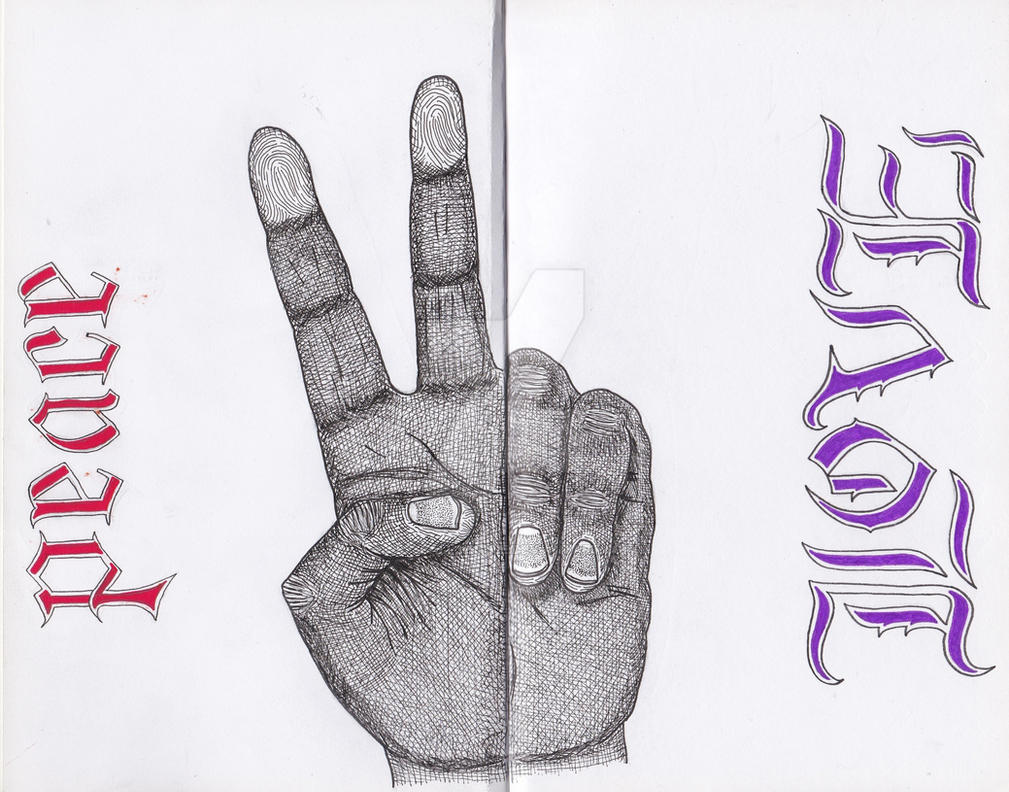 Black Book Sketches Page Four by JesseAllshouse