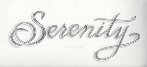Serenity Tattoo Design