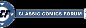 Classic Comics Forum Banner Logo