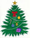 Christmas Tree Holiday Card 2018