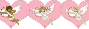Cupids Valentine's Day Cards Designs