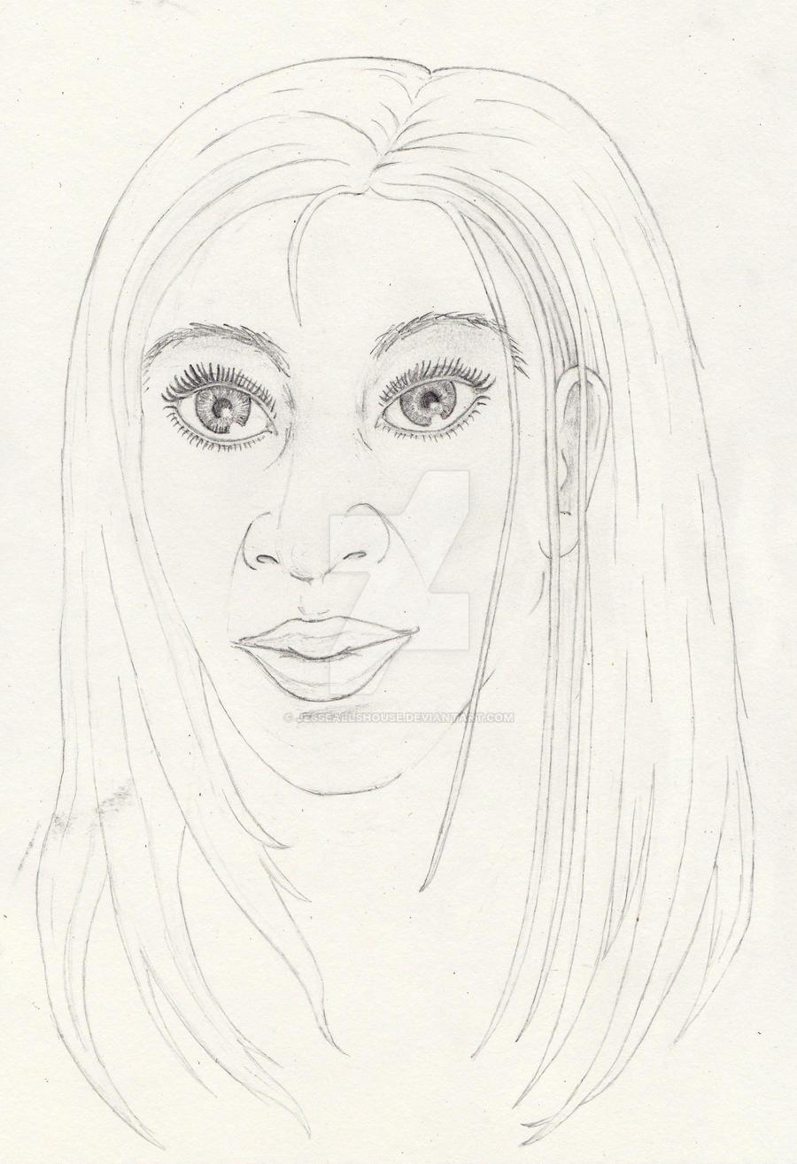 Quick Beauty Sketch 2