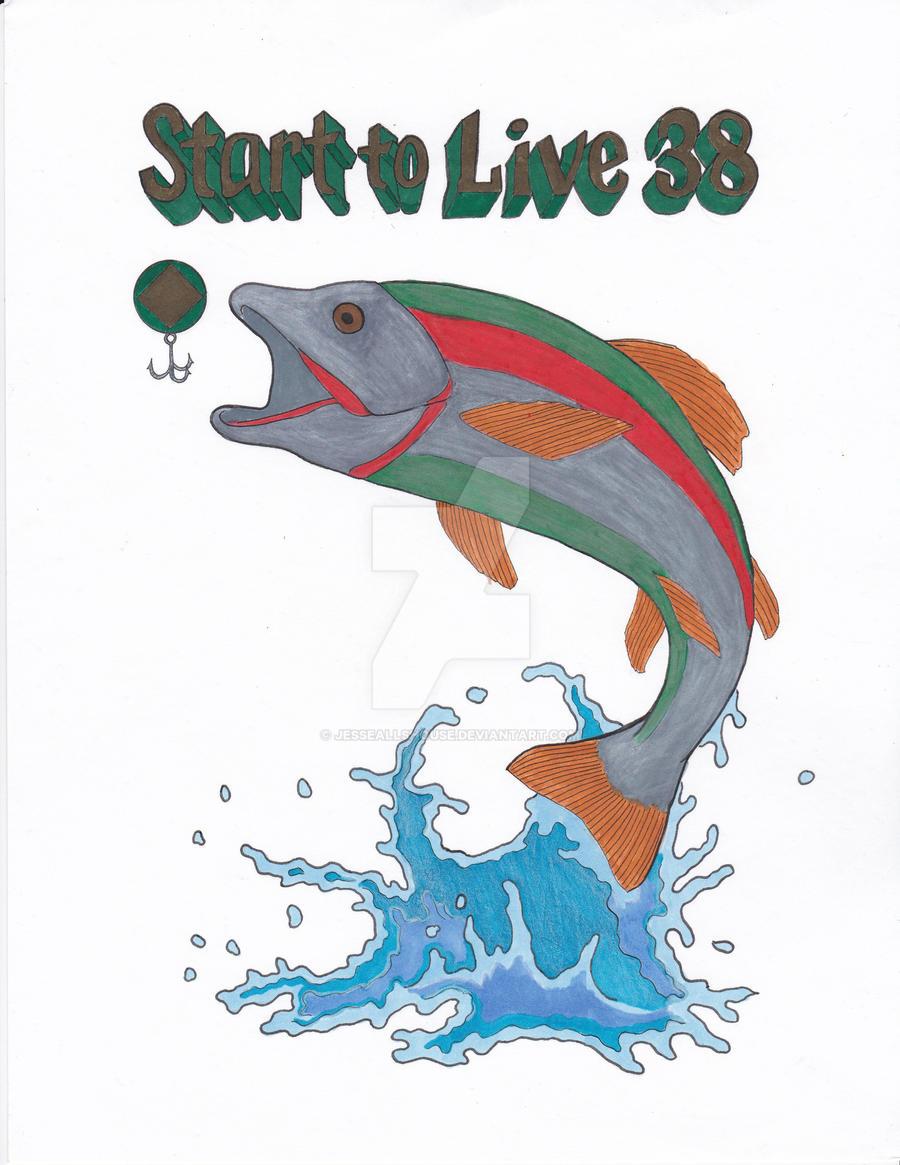 Jumping Fish Logo