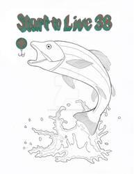 Fish Logo Color Text