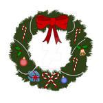 Wreath Digital Color