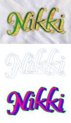 Custom Graffiti Lettering