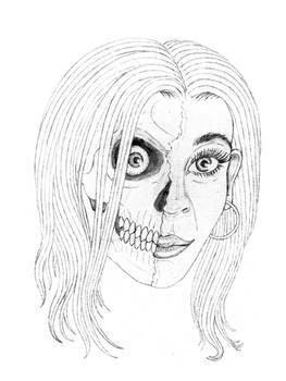 Living Dead Girl Quick Sketch