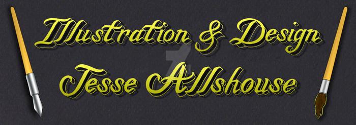 Web Banner Calligraphy