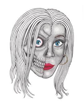 Living Dead Girl Stippling