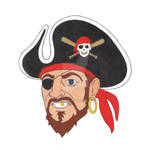 Pirate City Logo