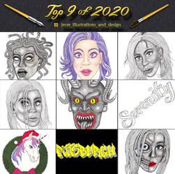 Top 9 of 2020
