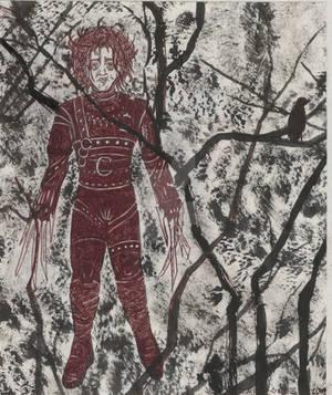 Edward Scissorhands by JesseAllshouse