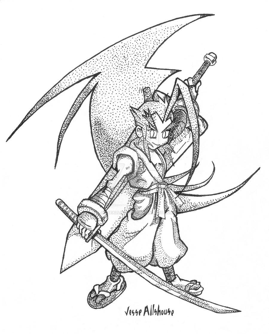 Musashi Stippling