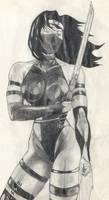 Psylocke Sketch