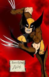Wolverine Color by JesseAllshouse
