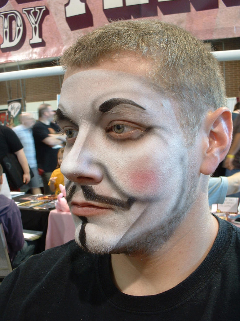 Guy Makeup Youtube: Guy Fawkes Airbrushed Makeup By MarquisDeZod On DeviantArt