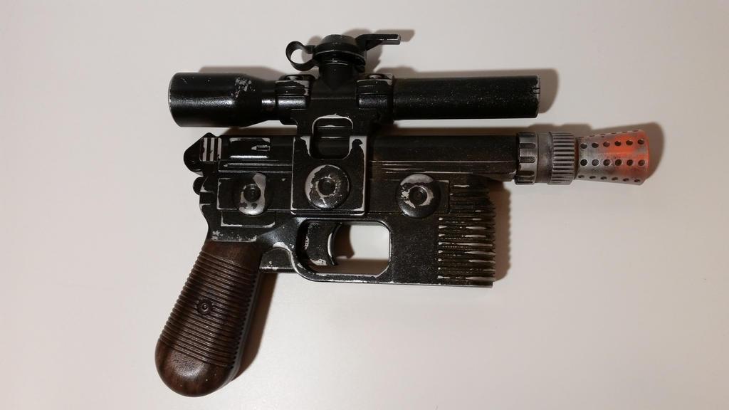 Han Solo DL-44 water gun by MarquisDeZod