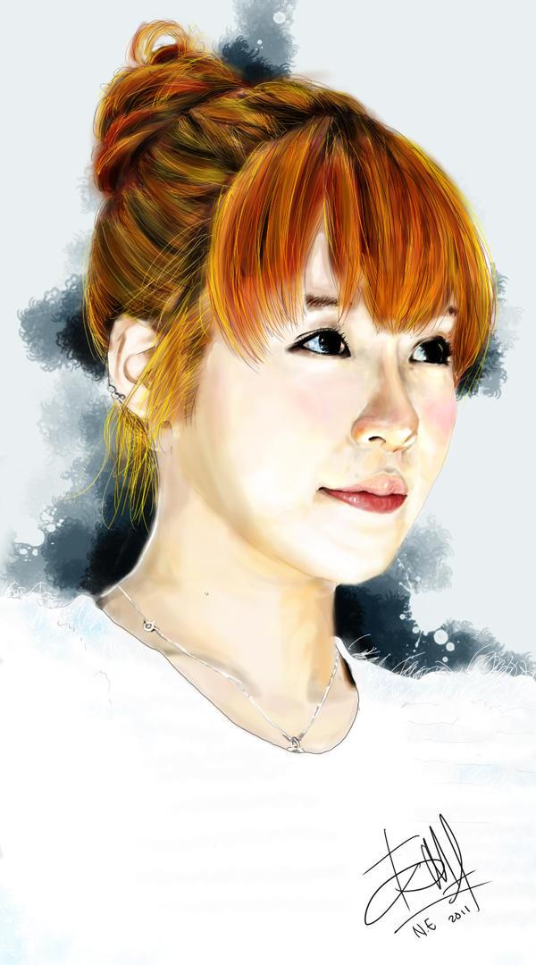 رسومات snsd Tiffany_snsd_digital_painting_by_noireru-d38ajod