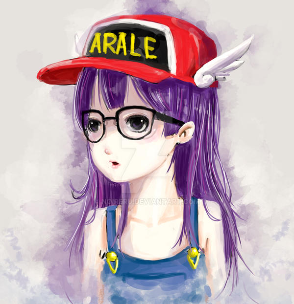 Arale Fanart By Noireru On DeviantArt