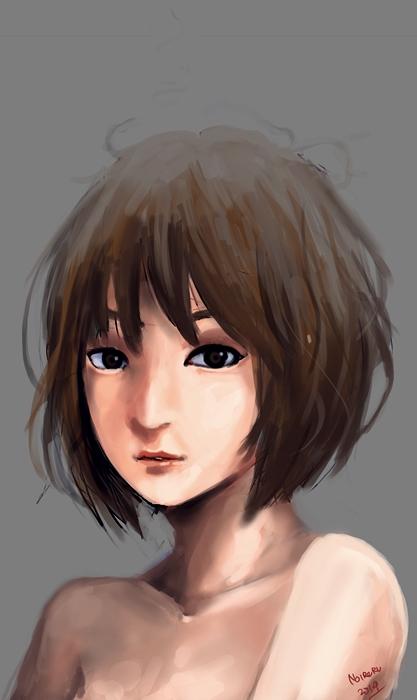 girl by noireru