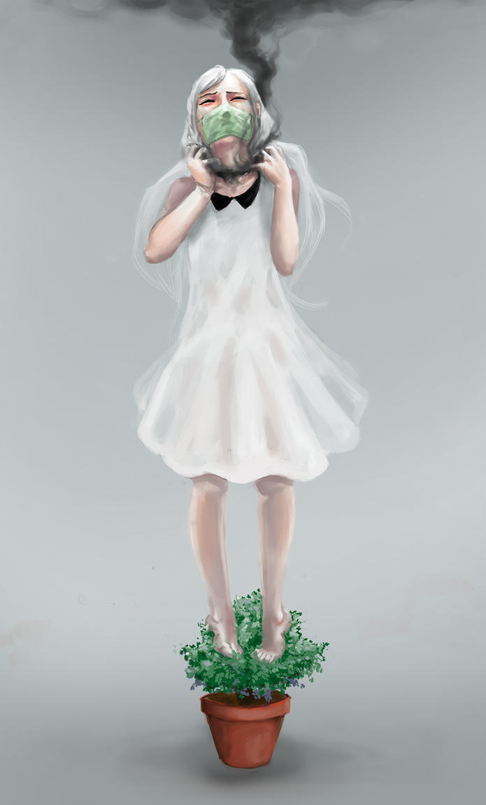 pollution by noireru