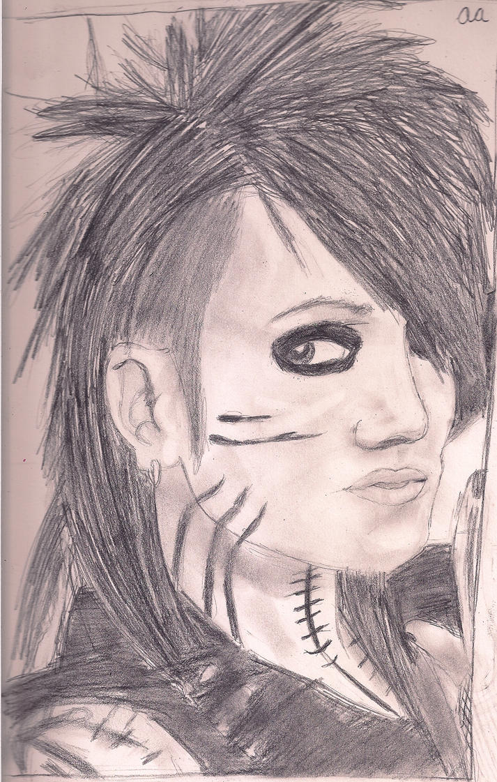 Ashley Purdy drawing by loveroftheartsforvr