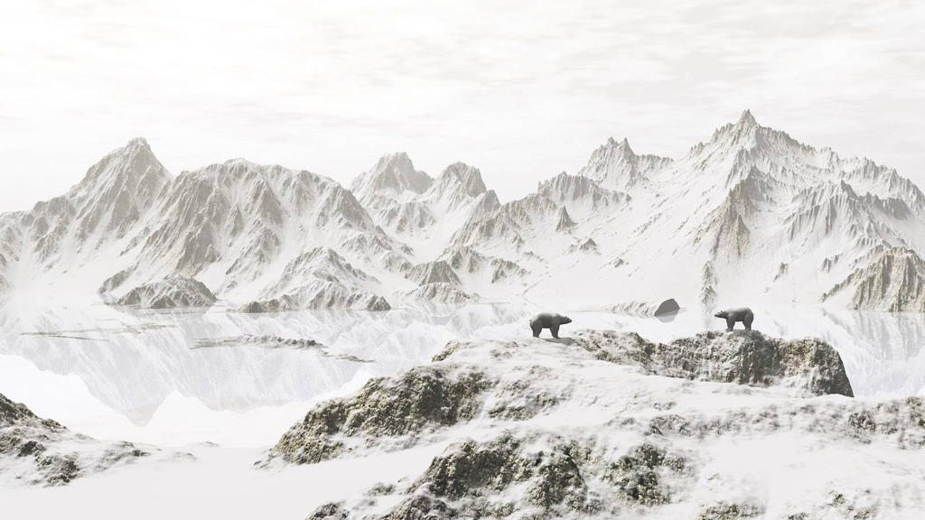Encounter In Whiteout by anne1956