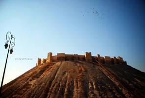 citadel of Aleppo by EmirKurtaran