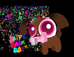Gift- Happy Barkday by PokeySmokey