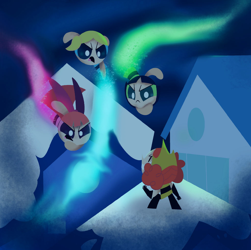 Twas The Fight Before Christmas.Ppg Twas The Fight Before Christmas By Pokeysmokey On