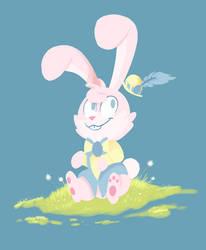 Easter Bunny Dummy