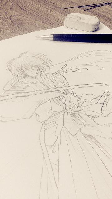 Kenshin Himura by rita937