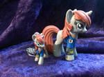 Custom Littlepip from Fallout: Equestria